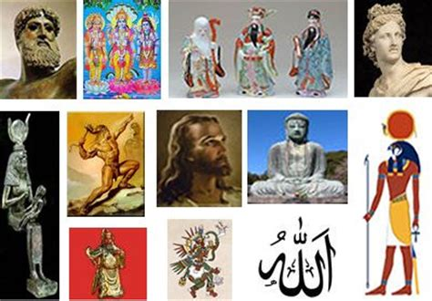 when did we/(our ancestors) create different god(s) or