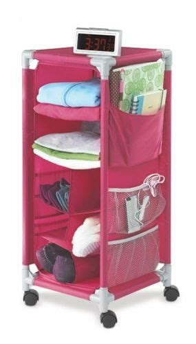 rolling bathroom caddy dorm organizer pink with wheels shelbs future