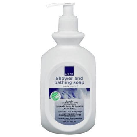 shower bathing abena shower bathing soap aleva incontinence