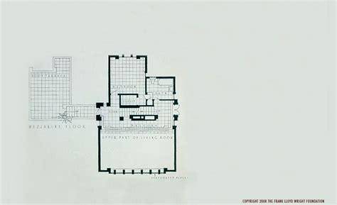 Frank Lloyd Wright Floor Plans by Plan Views Frank Lloyd Wright The Millard House