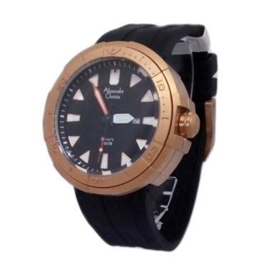 Alexandre Christie 1430297 Analog Tali Rantai Wanita Hitam 1 jual alexandre christie 1431082 analog tali karet jam tangan pria gold hitam