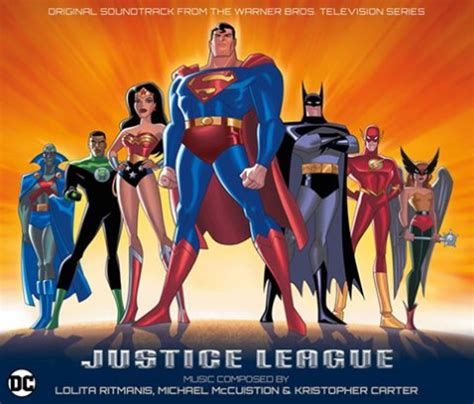 justice league film series justice league animated series to receive soundtrack release