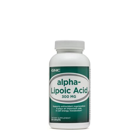 Alpha Lipoic Acid Metal Detox by Gnc L Glutathione Supplement A Potent