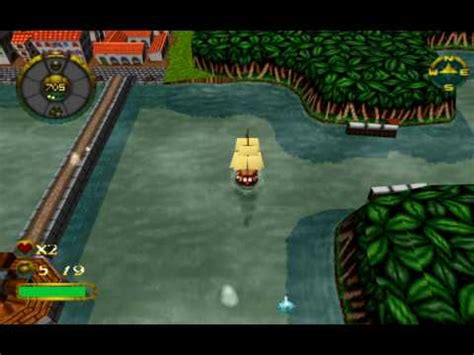 fraps full version pirate overboard funny psx game from 1997 youtube