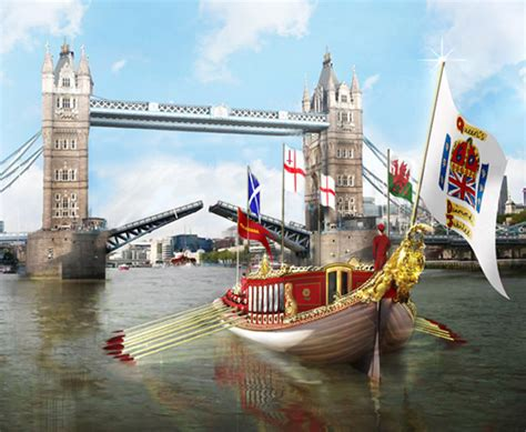 boat launch queens gloriana her majesty s royal barge classic boat magazine