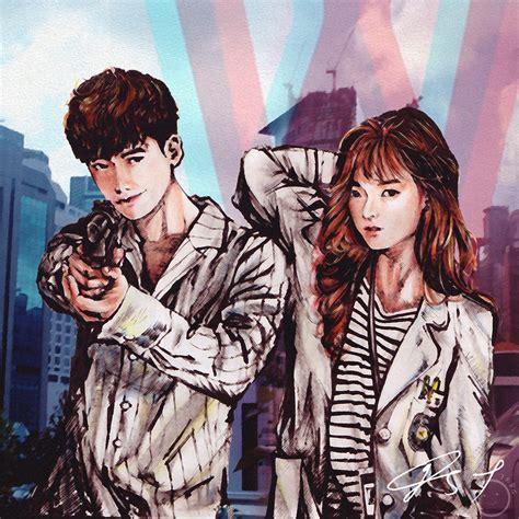 Drawing W Two Worlds by W Two Worlds Korean Drama Fanart By Jrbgwho By Jrbgwho