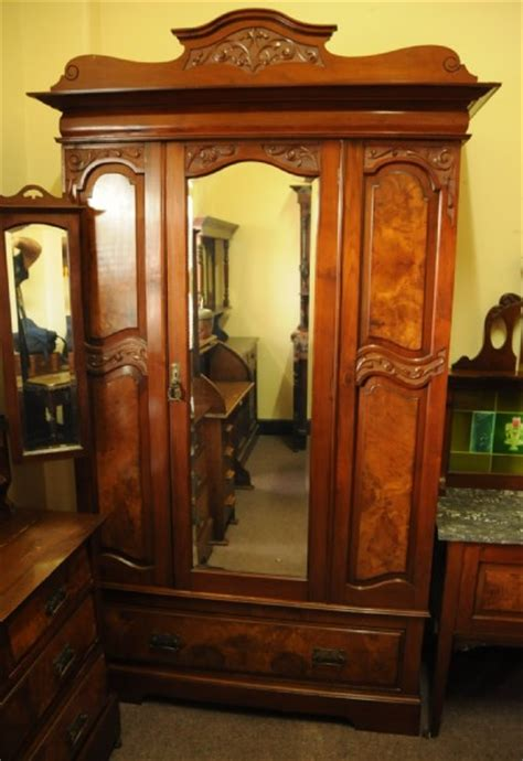art nouveau bedroom furniture art nouveau walnut 3 piece bedroom suite wardrobes and
