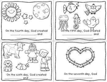creation story for kids book mini books the creation and minis on pinterest