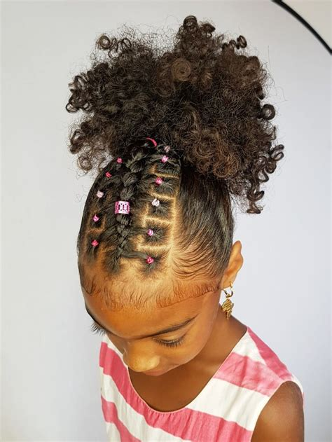 hairstyles for curly hair with just rubber bands 160 best pig ponytails images on pinterest children
