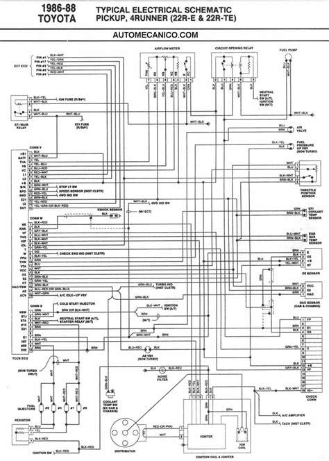 toyota  diagramas esquemas ubicacion de