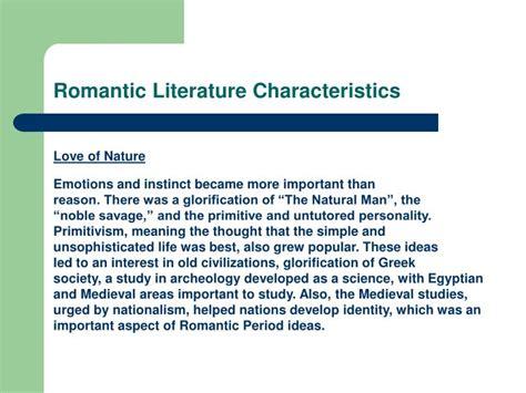 literature characteristics ppt robert louis stevenson powerpoint presentation id