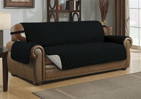 Sofa Covers For Leather Couches by Reversible Microfiber Pet Sofa Furniture Protector
