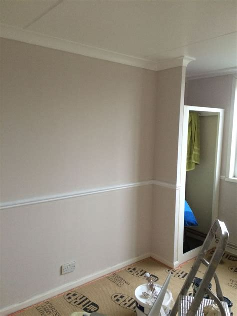 Colour Ideas Living Room Dado Rail Dulux Nutmeg White With White Dado Rail Diy Ideas For