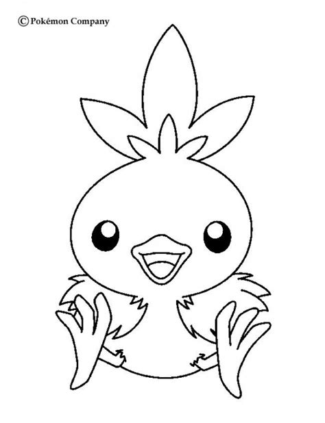 pokemon coloring pages hellokids torchic pokemon coloring page more fire pokemon coloring