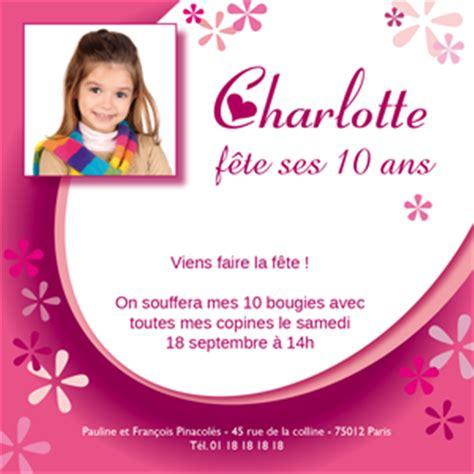Modeles De Lettres Pour Anniversaire Carte Anniversaire Fille