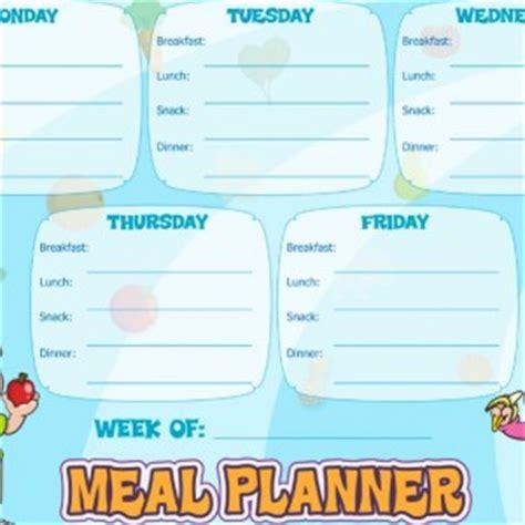 printable toddler meal planner resources super healthy kids