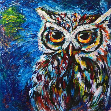 Midnite Owl   Creative Owls  Colorful Wall Decor   Lovejoy