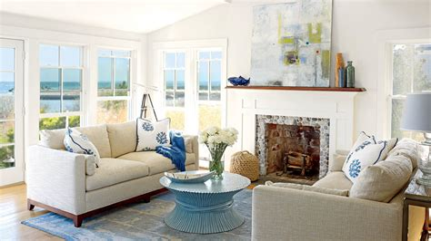 coastal living rooms 40 beautiful beachy living rooms coastal living