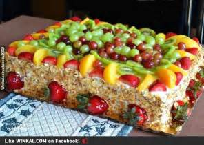 alguien pidi 243 un pastel de frutas winkal