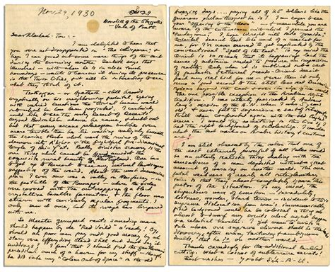Letter Lovecraft Lot Detail Autograph Letter Signed By H P Lovecraft I Yet To Write A Tale