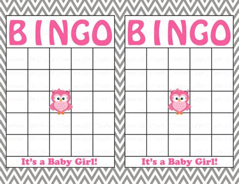 baby shower bingo cards blank blank baby shower bingo cards printable baby boy