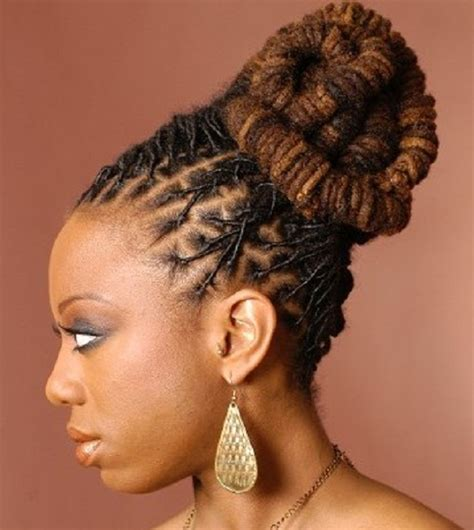 hairstyles for locs for women updo dreadlocks for men and women hairstyle ideas