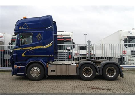 scania r 620 v8 6x4 topline tractor unit from netherlands