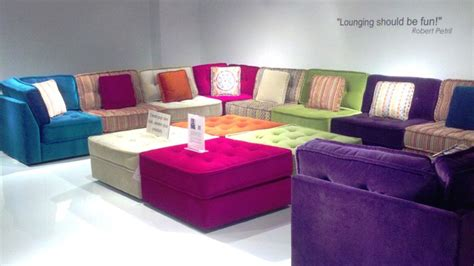 Colorful Sectional Sofas Modern Sectional Sofas