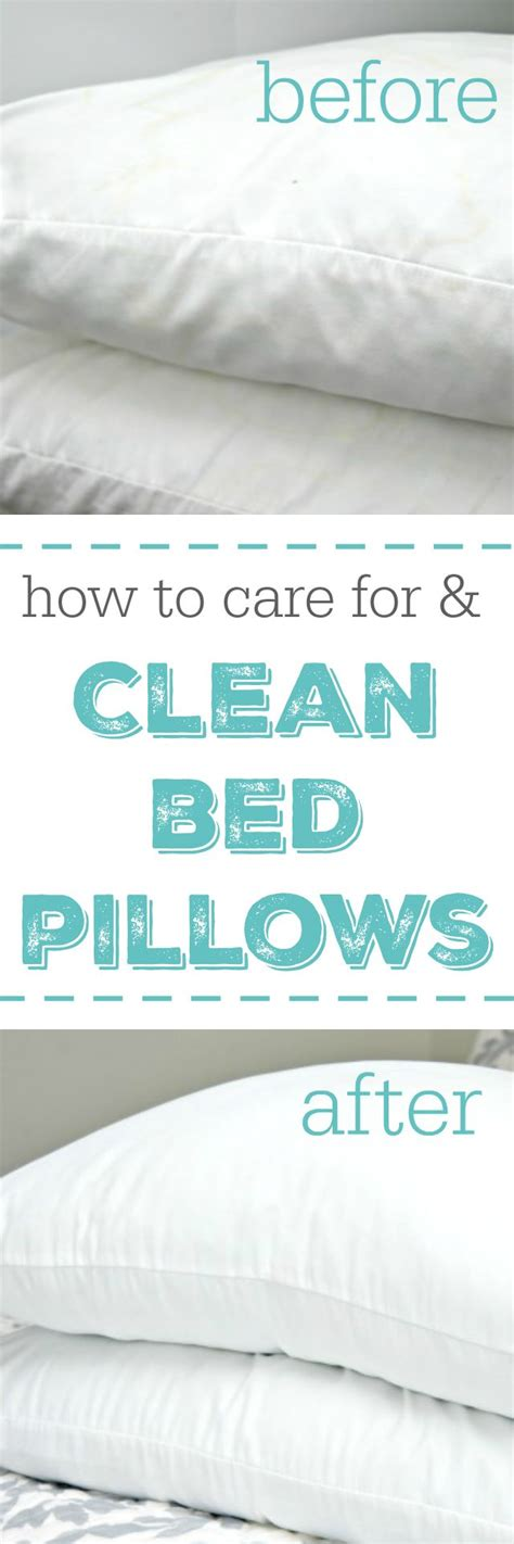 how to clean bed pillows how to care for and clean bed pillows mom bed pillows