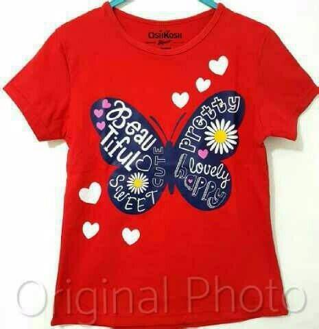 Oshkos Anak Cowo Size 2th 2 jual terlaris kaos anak size 16 oshkosh butterfly merahkaos anak karakter cewek di lapak tuwai