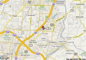 Loveland Ohio Map by Map Of Towneplace Suites Cincinnati Ne Loveland