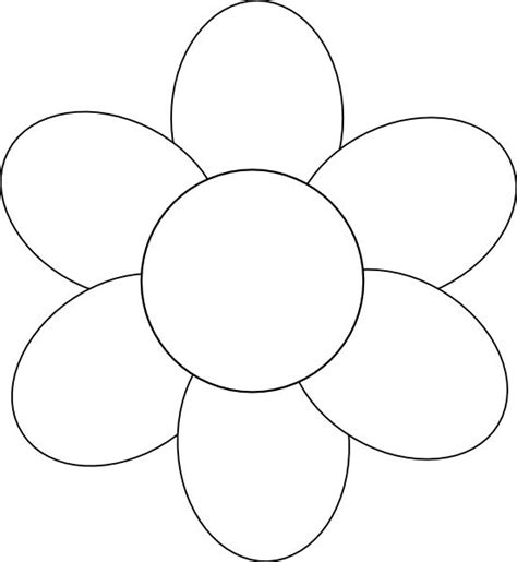 printable flower templates free 25 unique flower template ideas on free paper