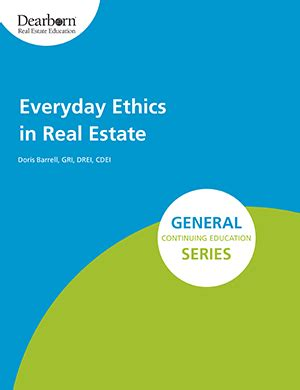 ethics in everyday books everyday ethics in real estate realtor 174 store