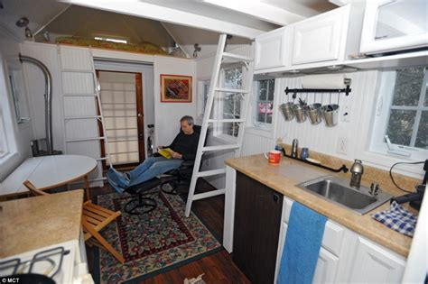 2 Bedroom Travel Trailer Floor Plans by Couple Give Up Their Home To Live The Simple Life In Tiny