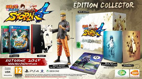 film naruto ultimate ninja storm 4 une 233 dition collector pour naruto shippuden ultimate ninja