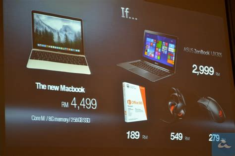 Laptop Asus Zenbook Ux305 Di Malaysia asus zenbook ux305 dilancarkan di malaysia lebih nipis berbanding macbook 12 inci amanz