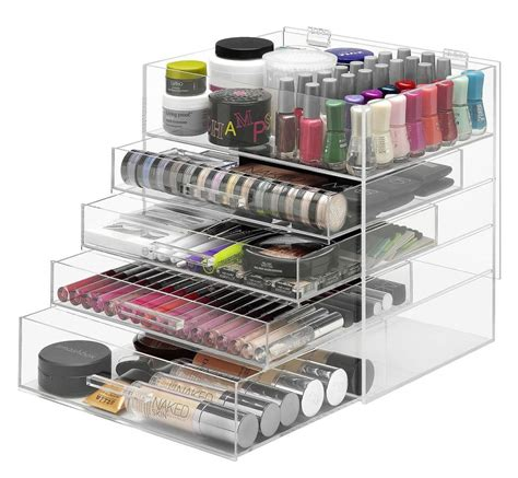 best organizer clear makeup organizer mycosmeticorganizer