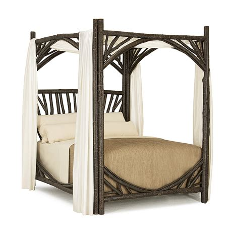 rustic canopy bed rustic canopy bed la lune collection