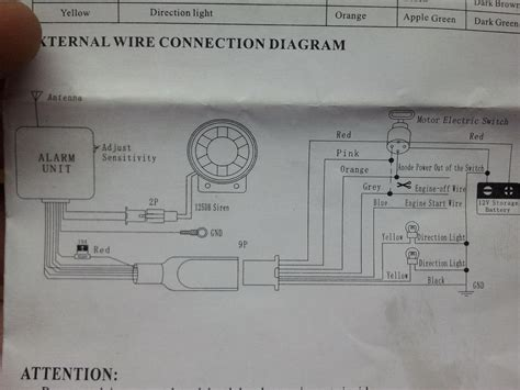 cyclone bike alarm wiring diagram hobbiesxstyle
