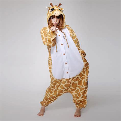 Romper Giraffi Pluss Slabber Sku25120 giraffe onesie romper suit kigurumi fancy dress for s xl