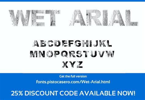 dafont arial wet arial font dafont com
