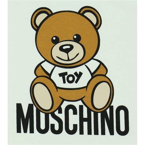 baby boys white shirt moschino baby boys white t shirt with teddy print