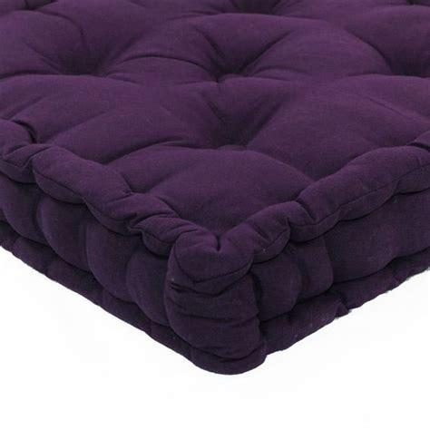 gros coussins de sol coussin de sol 50 cm etna violet coussin de sol et pouf eminza