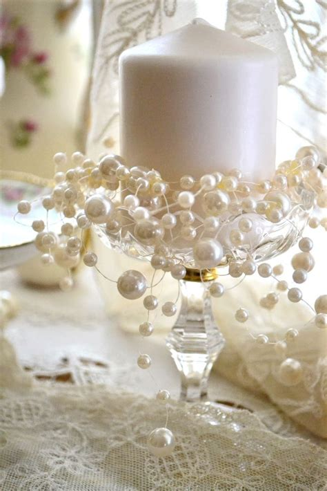 17 best ideas about pearl anniversary on simple centerpieces bridal