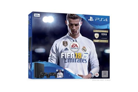 Kaset Ps3 Fifa 18 playstation 4 konsolen bundle mit quot fifa 18 quot angek 252 ndigt play3 de
