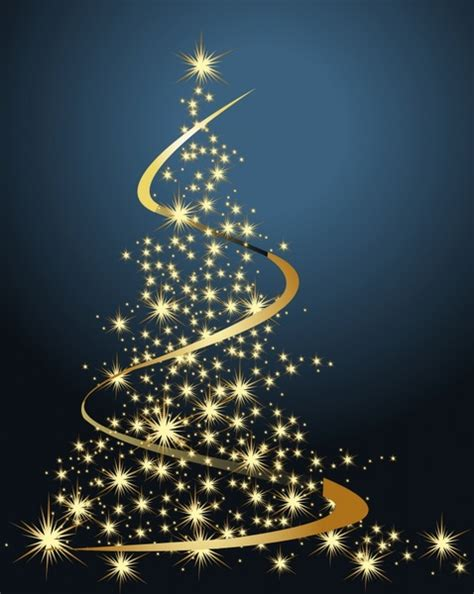 desktop twinkling tree decoration background twinkling fir tree dynamic decor free vector in encapsulated