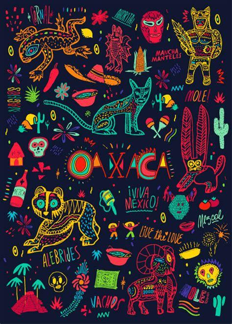 mexican pattern tumblr bosque oaxaca moleskine design work life