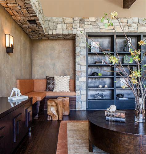 modern rustic contemporary living room san francisco