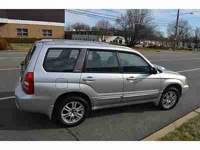 used subaru forester 2 5 xt manual for sale in gauteng cars co za id 1817963 find used 2004 subaru forester 2 5 xt 5 speed manual carfax 1 owner in philadelphia