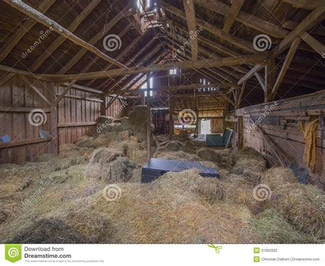 barn interior stock photo image  plank indoor rural